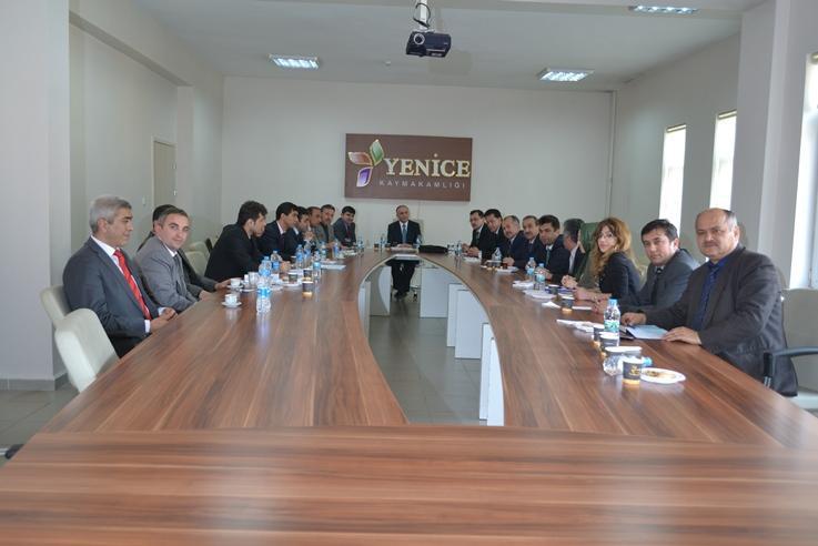 Karabük Milli Eğitim Müdürleri Toplantısı